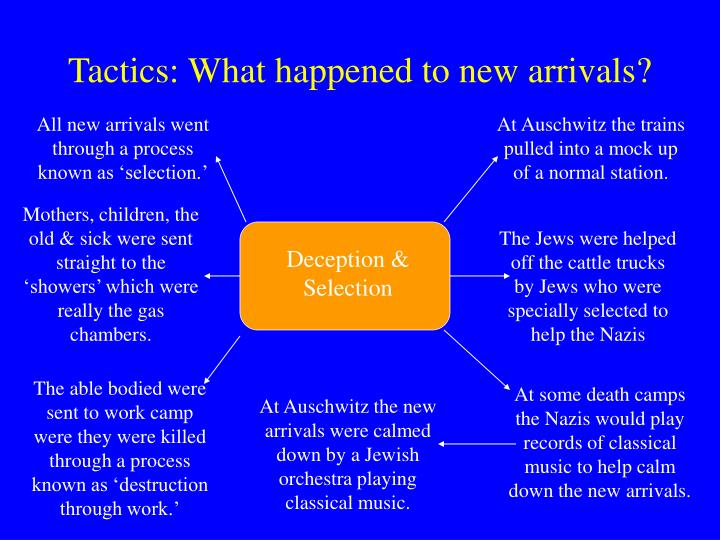Tactics: What happened to new arrivals?