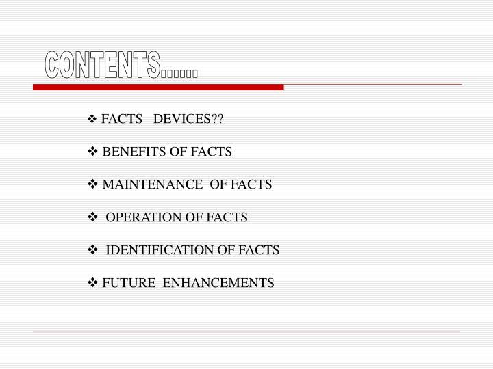 CONTENTS......