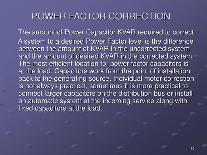 Ppt Power Factor Correction Powerpoint Presentation Id
