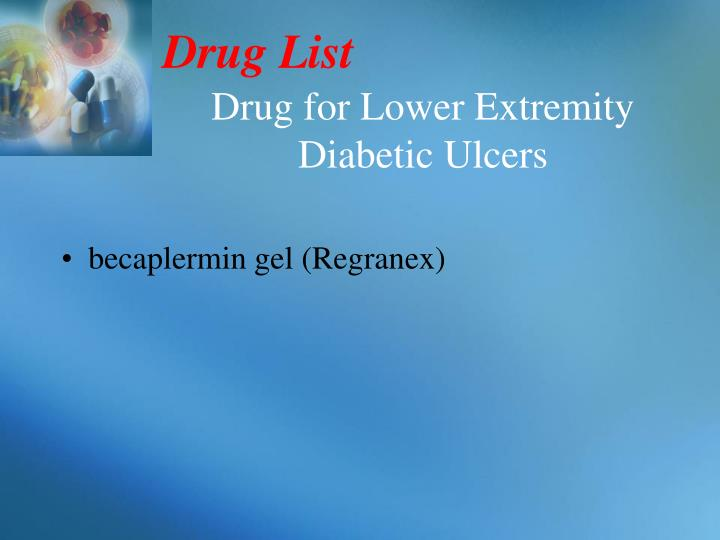 Drug List