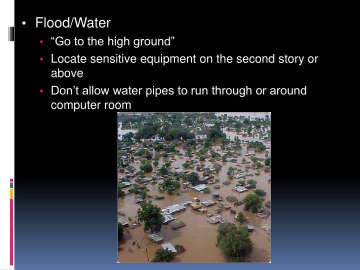 Flood/Water