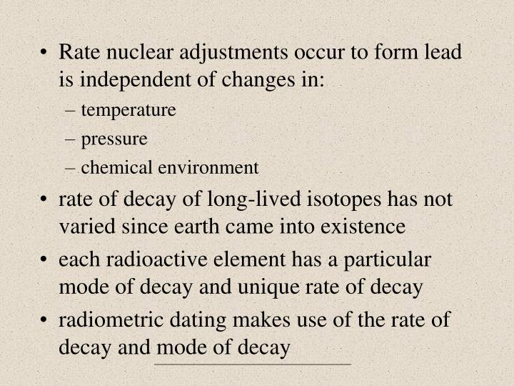 What are problems with radiometric dating