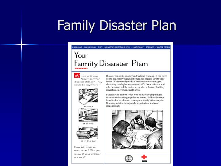 Family Disaster Plan