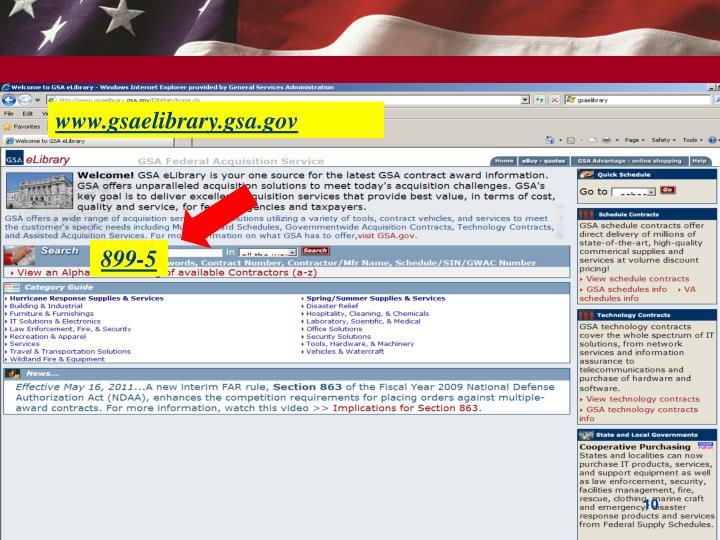 www.gsaelibrary.gsa.gov