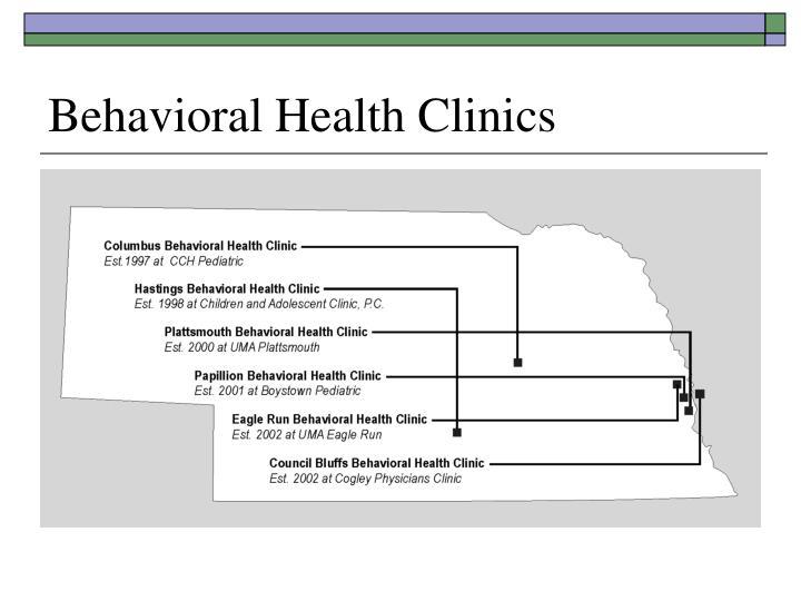 Behavioral Health Clinics