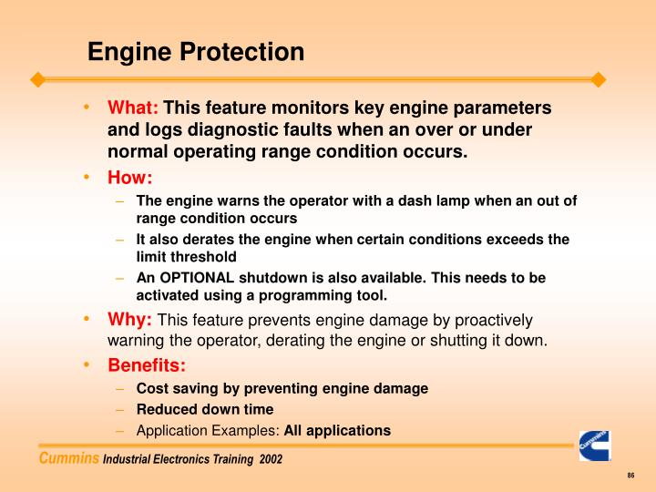 Engine Protection