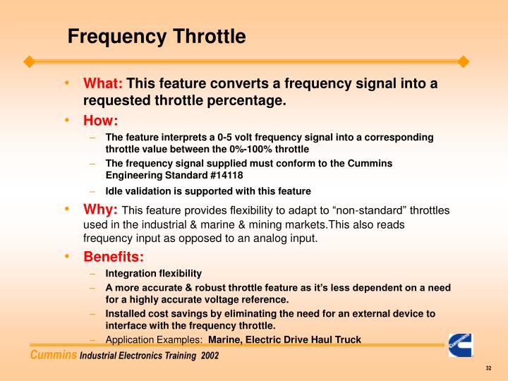 Frequency Throttle