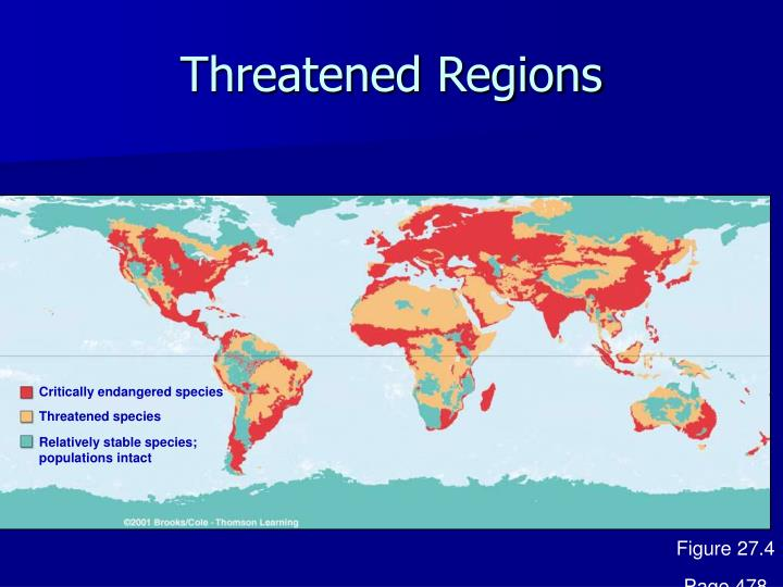 Threatened Regions