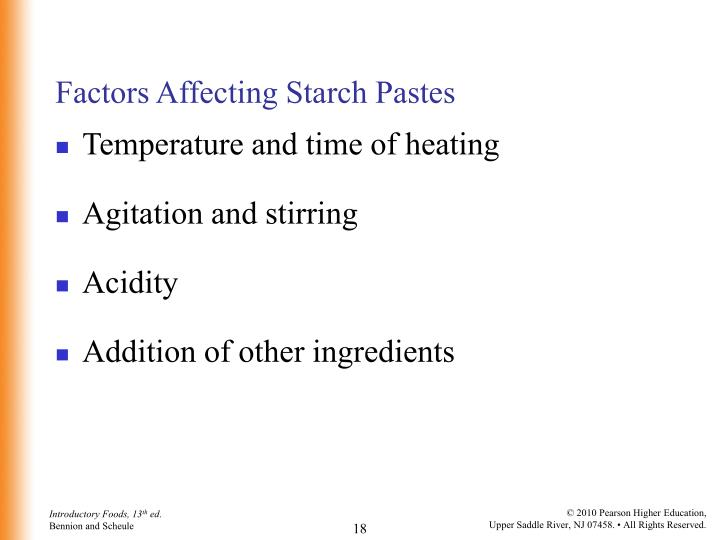 factors of starch Environmental factors influencing amylase enzyme activity  if starch was detected,  factors affecting enzyme activity abstract:.