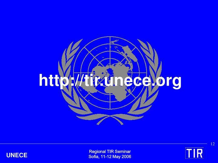 http://tir.unece.org