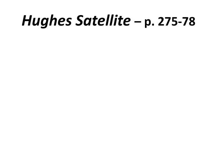 Hughes Satellite