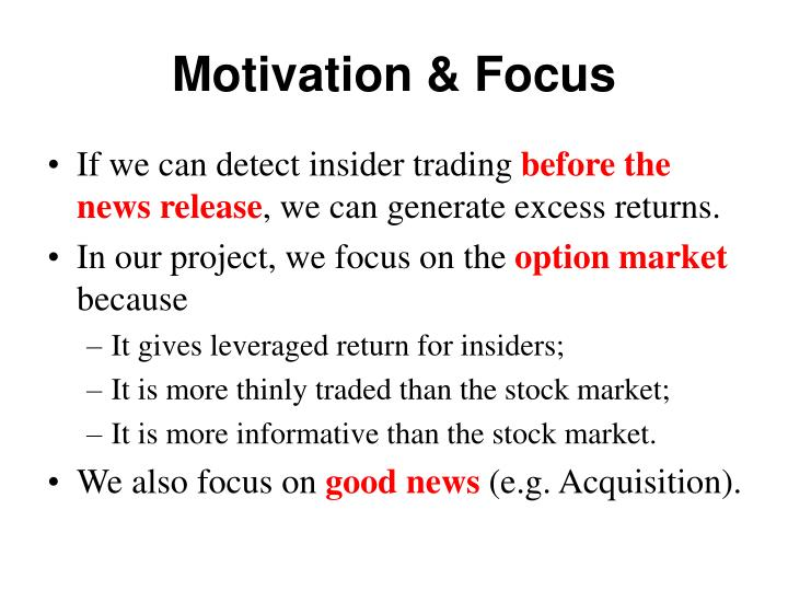 Motivation & Focus
