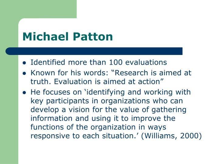 Michael Patton