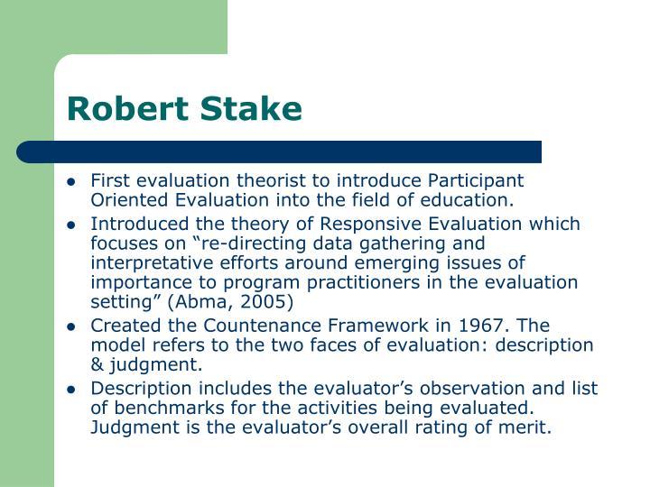 Robert Stake