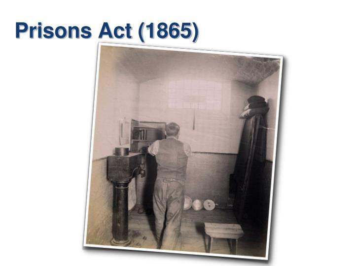 Prisons Act (1865)