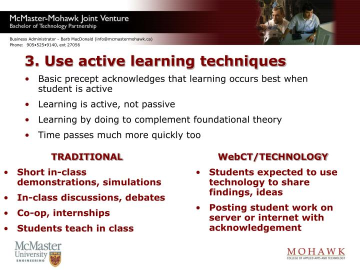 3. Use active learning techniques