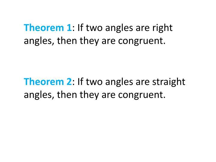 Theorem 1