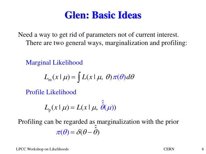 Glen: