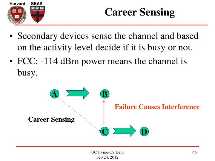 Career Sensing