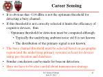 career sensing1