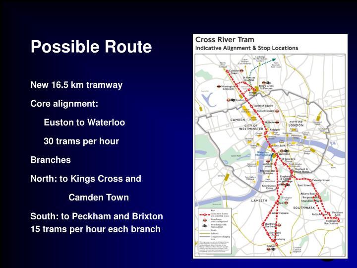Alternative routes