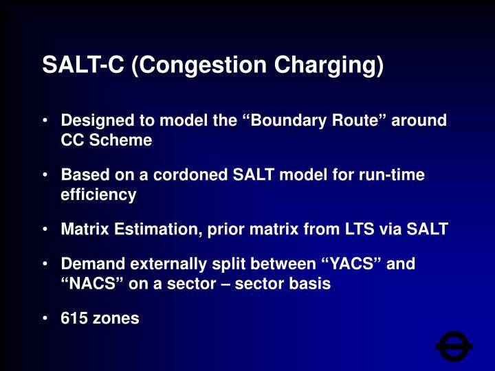 SALT-C (Congestion Charging)