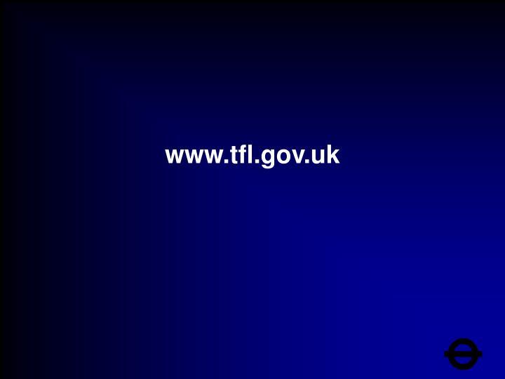 www.tfl.gov.uk