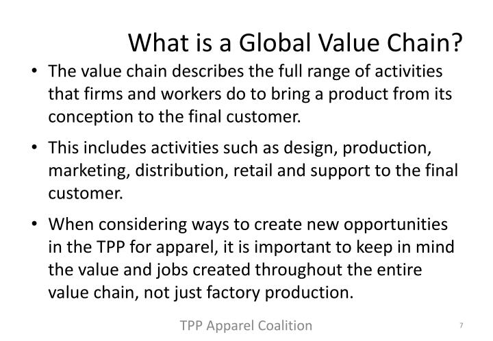 What is a Global Value Chain?