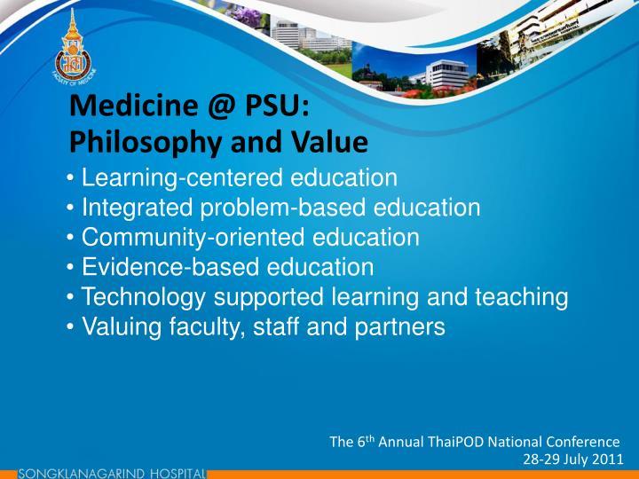 Medicine @ PSU: