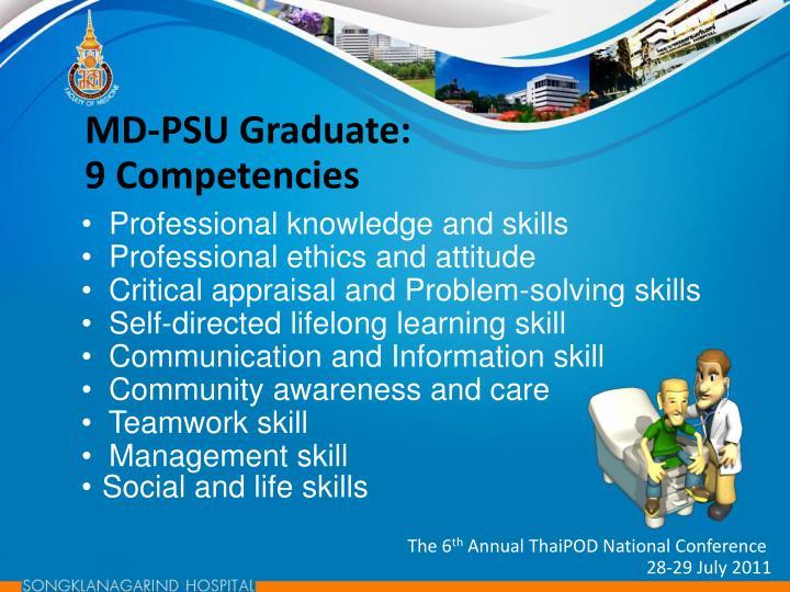 MD-PSU Graduate: