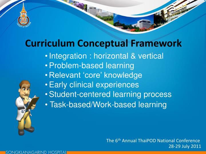 Curriculum Conceptual Framework