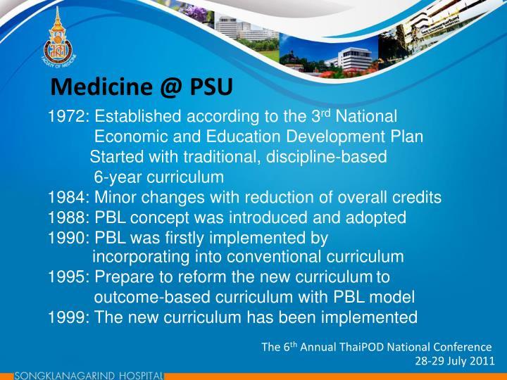 Medicine @ PSU