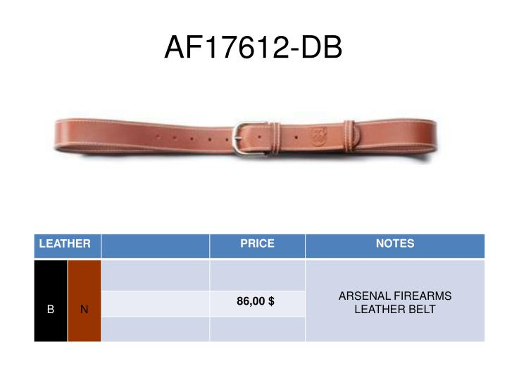 AF17612-DB