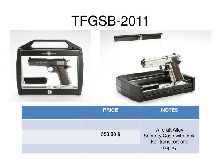 TFGSB-2011