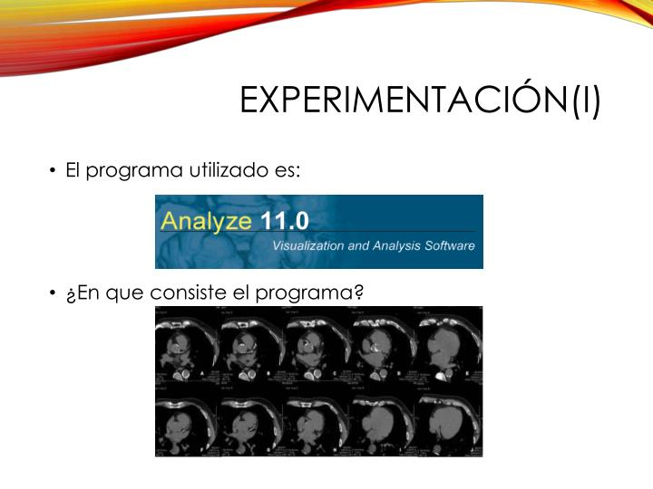 Experimentación(I)