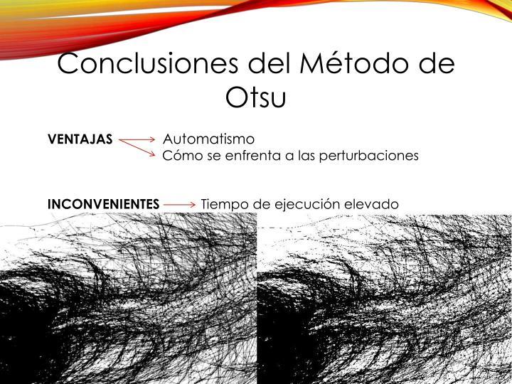 Conclusiones del Método de
