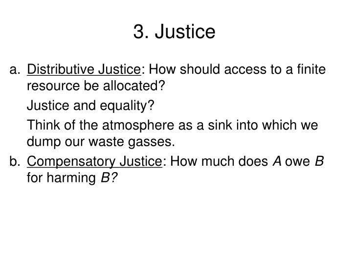 3. Justice
