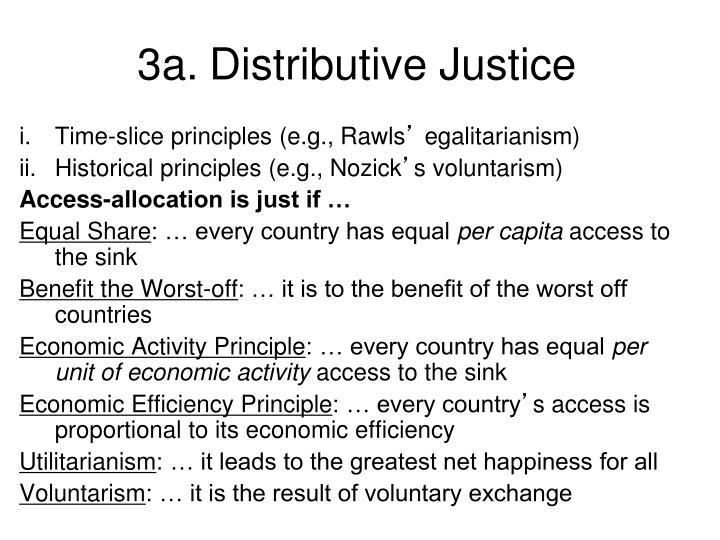 3a.Distributive Justice