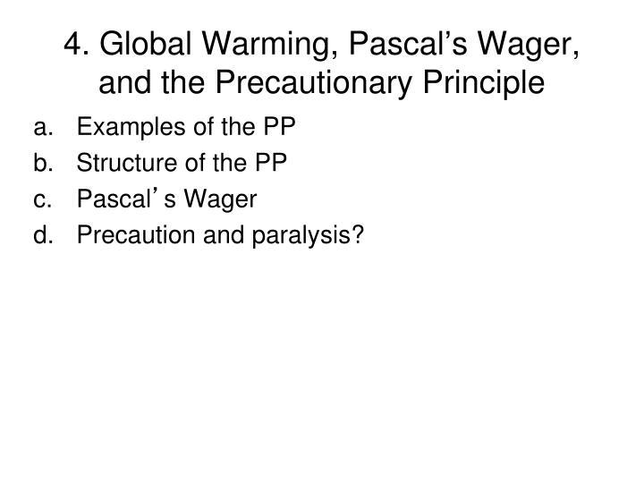 4. Global Warming, Pascal