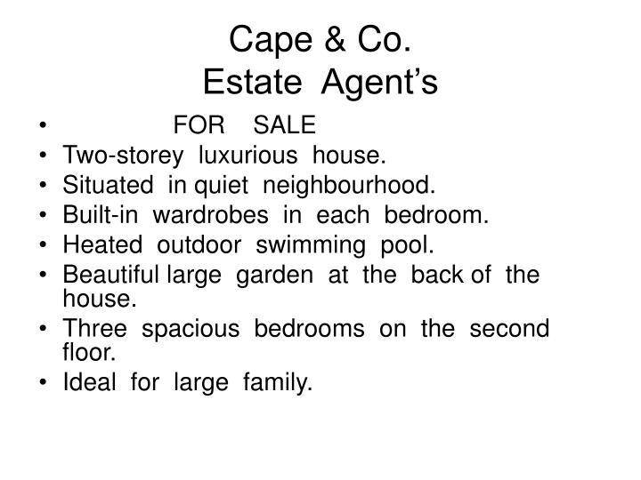 Cape & Co.