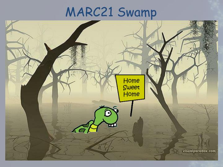 MARC21 Swamp
