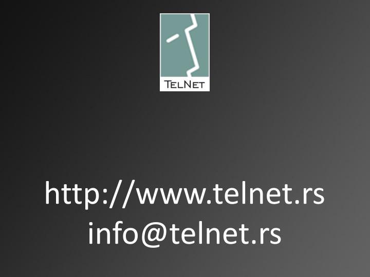 http://www.telnet.rs