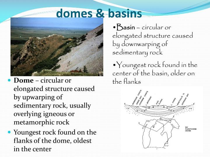 domes & basins