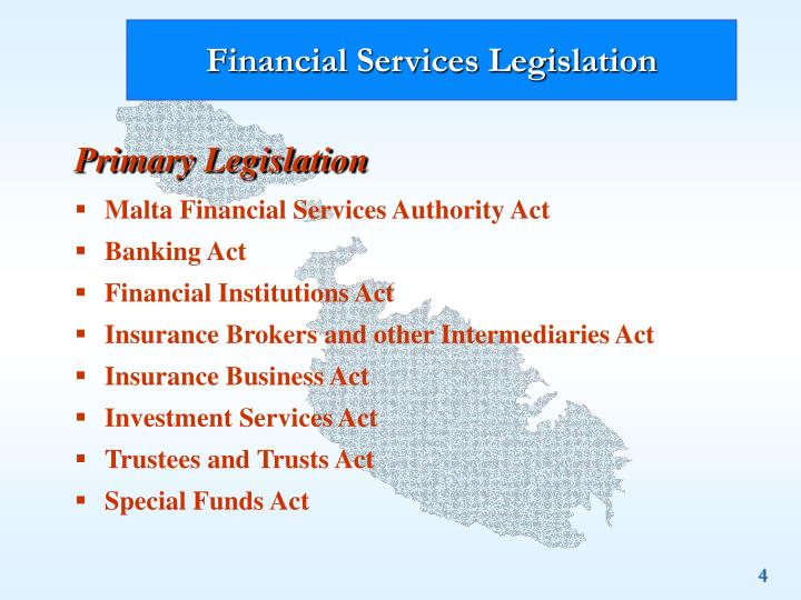 Financial Services Legislation