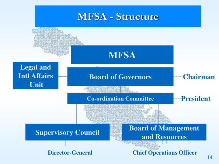 MFSA - Structure