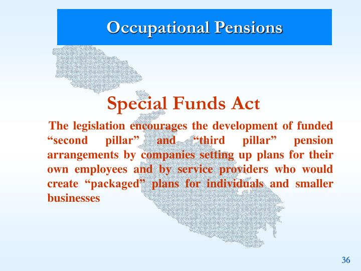 Occupational Pensions