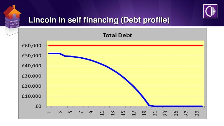 Lincoln in self financing (Debt profile)