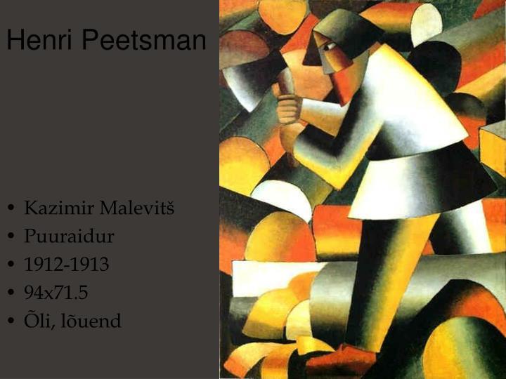 Henri Peetsman