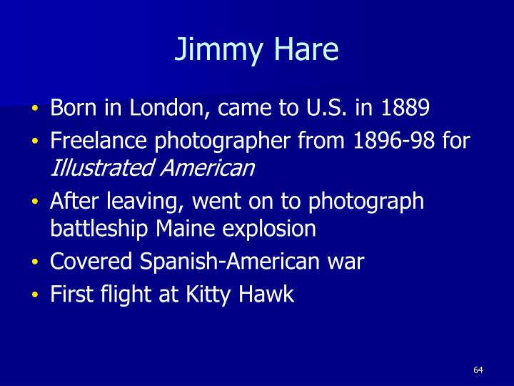 Jimmy Hare