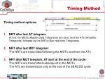 timing method1